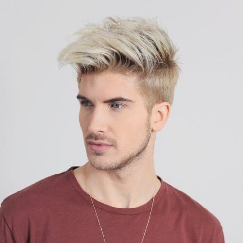 Textured Haircut Ideas For Men: 50 Ways To Add Volume To Regarding Retro Side Hairdos With Texture (View 11 of 25)