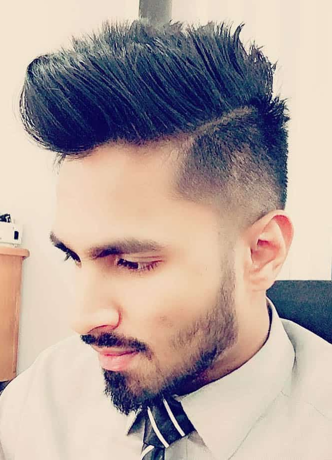 The 45 Best Side Part Haircuts For Men (Trendiest Styles 2019) With Turquoise Side Parted Mohawk Hairstyles (View 18 of 25)