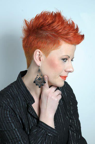 The Pixie Revolution: Hot Or Not: The Mohawk & Fauxhawk On Pertaining To Hot Red Mohawk Hairstyles (View 11 of 25)