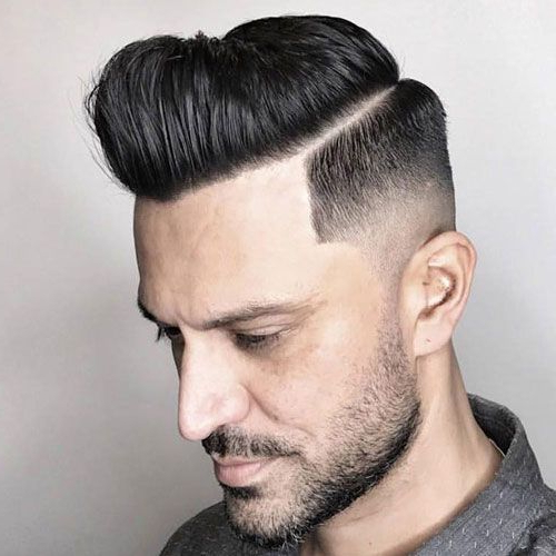 The Razor Fade Haircut | Haircuts | Pinterest | Mid Fade Within Mohawk Haircuts On Curls With Parting (View 8 of 25)