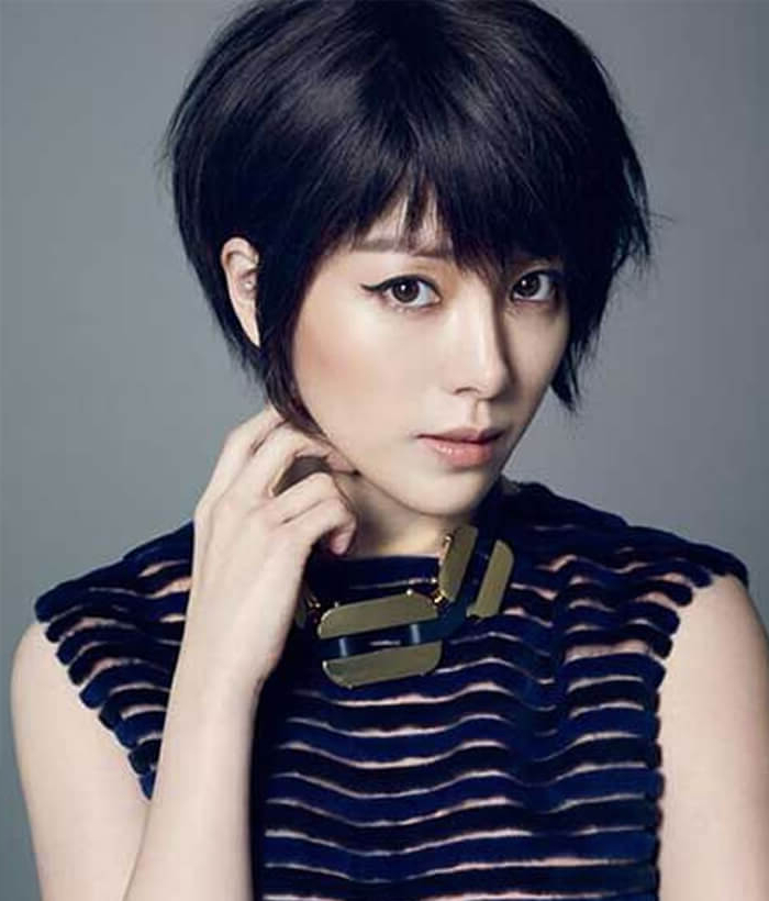 Top 30 Best Asian Short Hair Style That Look Great To Asian For Bold Asian Pixie Haircuts (View 4 of 25)