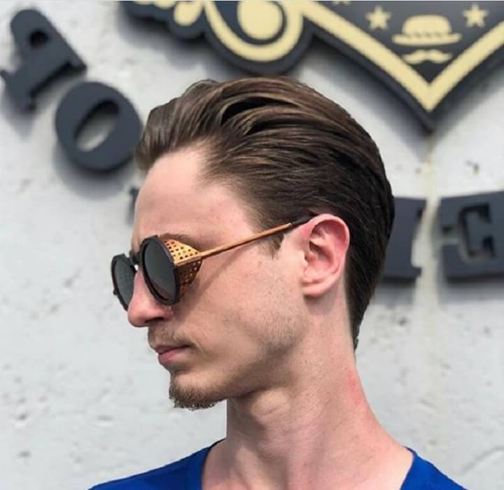 Top 30 Modern Slicked Back Hairstyles For Men | Best Slicked With Long Hairstyles With Slicked Back Top (View 18 of 25)