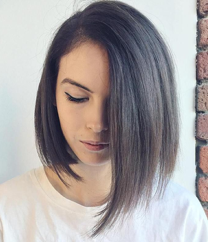 Top 40 Catchy Asymmetric Haircuts For Attention Grabbing In Asymmetrical Bob Asian Hairstyles (View 19 of 25)