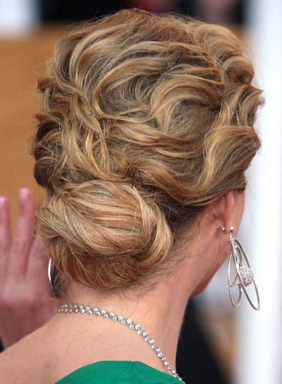 Top 50 Beautiful Wavy Long Hairstyles To Inspire You In Angular Updo Hairstyles With Waves And Texture (View 22 of 25)