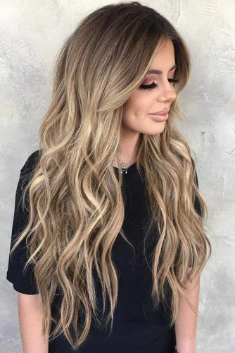Top 54 Dirty Blonde Hair Styles   Lovehairstyles Intended For Long Waves Hairstyles With Subtle Highlights (View 16 of 25)