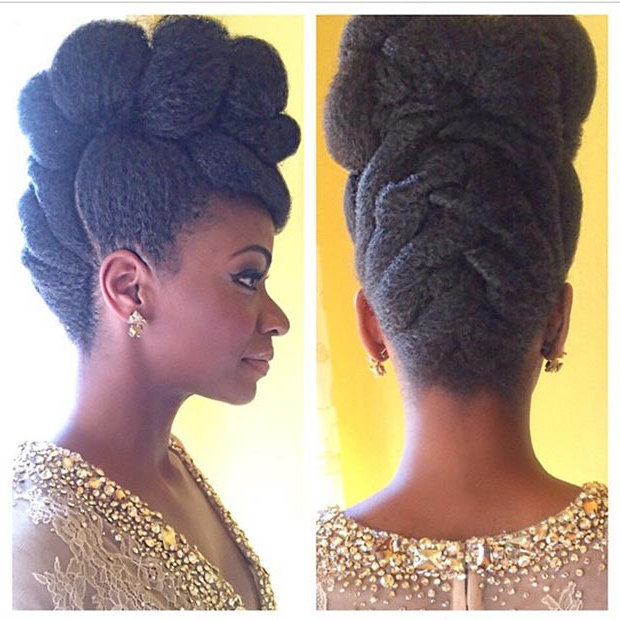 Top Trendy Updo Hairstyles 2015 | Hairstyles 2017, Hair Within Mohawk Updo Hairstyles For Women (View 19 of 25)