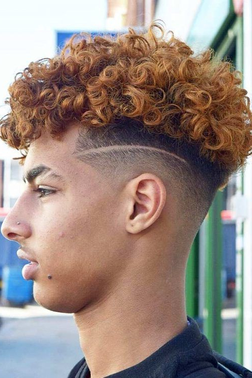 Totally Mind Blowing Mohawk Fade Hairstyles For Those Who Dare With Regard To Messy Curly Mohawk Haircuts (View 18 of 25)