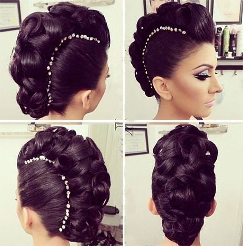 Featured Photo of Mohawk Updo Hairstyles For Women