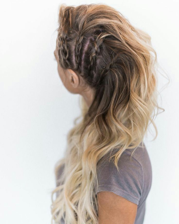 Women Haristyle | Halloween | Pinterest | Hair, Hair Styles Within Teased Long Hair Mohawk Hairstyles (View 6 of 25)