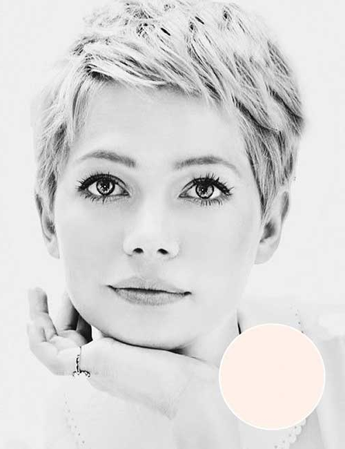 10 Best Short Haircuts For Round Faces – Neue Frisuren 2019 With Regard To Pixie Haircuts For Round Faces (View 20 of 25)