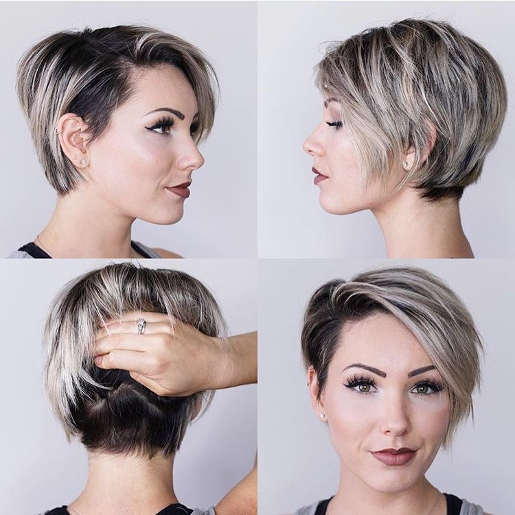 10 Latest Long Pixie Hairstyles To Fit & Flatter – Short Regarding Gray Pixie Haircuts With Messy Crown (View 13 of 25)