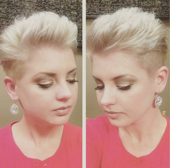 16 Cute, Easy Short Haircut Ideas For Round Faces – Popular Intended For Pixie Haircuts For Round Faces (View 18 of 25)