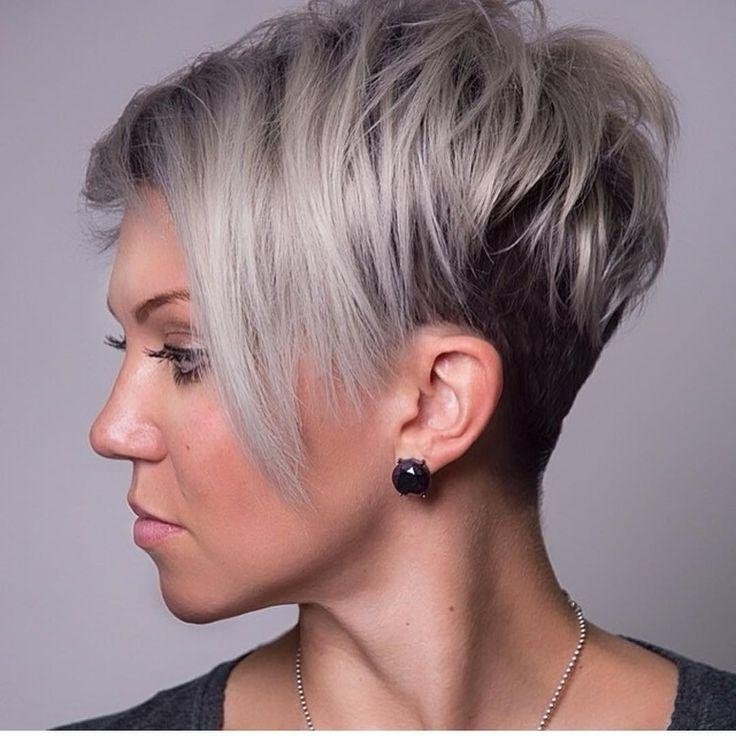 2018 Latest Layered Short Haircuts For Round Faces Not Every Inside Layered Short Hairstyles For Round Faces (View 11 of 25)