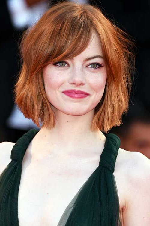 22 Flattering Hairstyles For Round Faces – Pretty Designs Throughout Long Bob Hairstyles For Round Face Types (View 20 of 25)