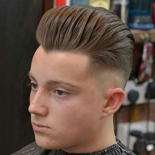 25 Best Haircuts For Guys With Round Faces (2019 Guide) Pertaining To Brushed Back Hairstyles For Round Face Types (View 7 of 24)