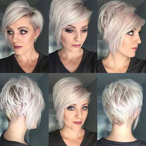 35 Best Layered Short Haircuts For Round Face 2018 For Layered Short Hairstyles For Round Faces (View 22 of 25)