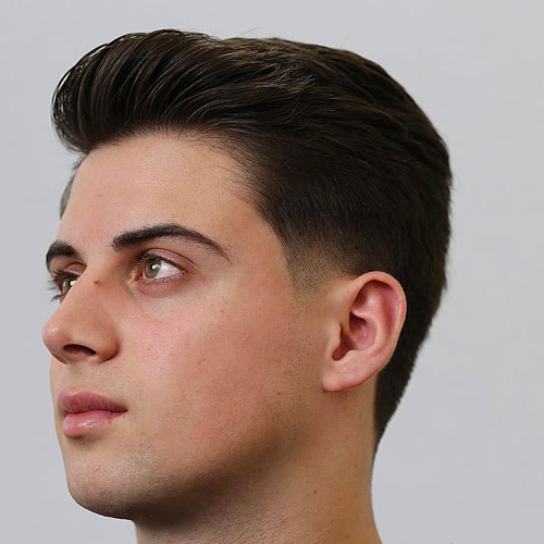 35 Classic Taper Haircuts (2019 Guide) Regarding Pixie Haircuts With Tapered Sideburns (View 15 of 25)