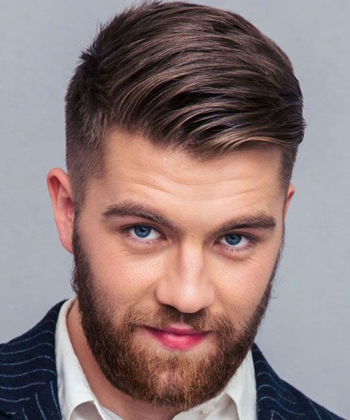 35 Classic Taper Haircuts (2019 Guide) | Undercut Hairstyles Regarding Pixie Haircuts With Tapered Sideburns (View 4 of 25)