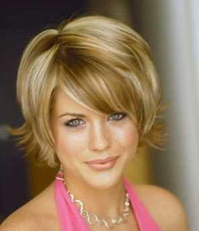 4 Short Hairstyles Women Over 50 Round Faces intended for Short Flip Haircuts For A Round Face