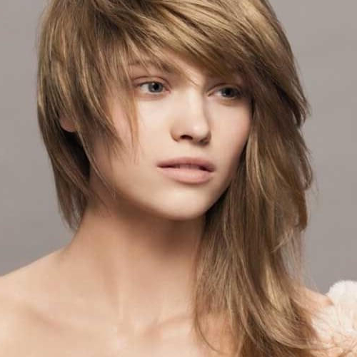 45 Best Looking Asymmetrical Haircuts For Every Face Shape throughout Asymmetrical Side-Sweep Hairstyles