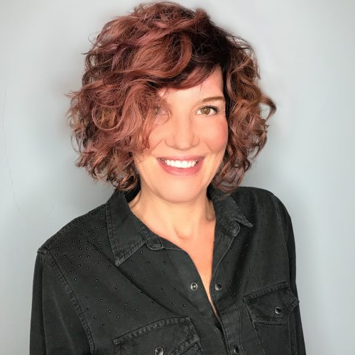 46 Bob With Bangs Hairstyle Ideas Trending For 2019 in Curly Messy Bob Hairstyles With Side Bangs