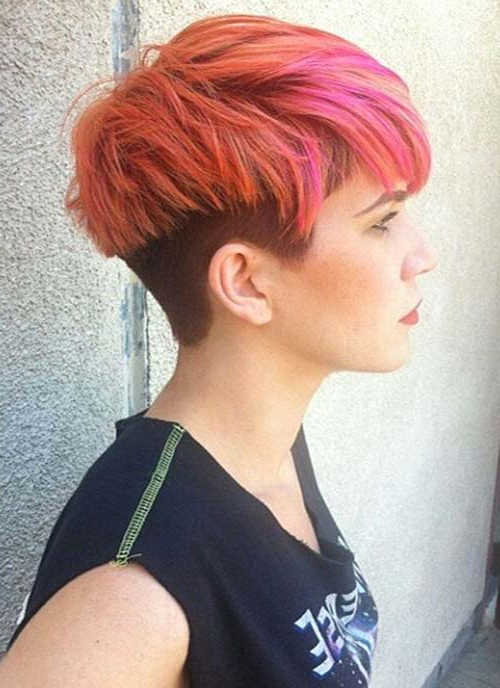 47 Amazing Pixie Bob You Can Try Out This Summer! throughout V-Cut Outgrown Pixie Haircuts