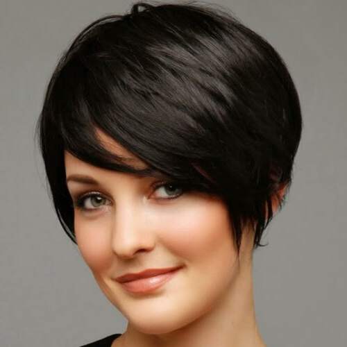 50 Remarkable Short Haircuts For Round Faces – Best Hairstyles Regarding Pixie Haircuts For Round Faces (View 7 of 25)