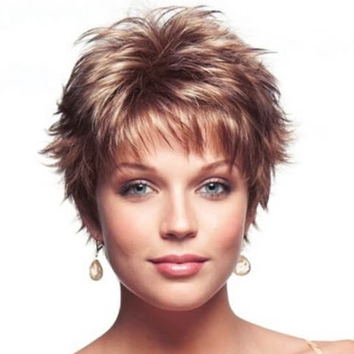 50 Short Haircuts That Solve All Fine Hair Issues | Hair Throughout Messy Spiky Pixie Haircuts With Asymmetrical Bangs (View 18 of 25)