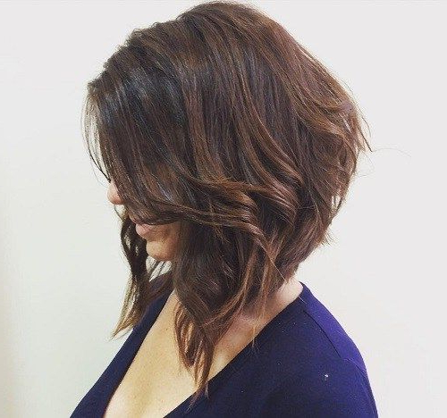 70 Best A-Line Bob Hairstyles Screaming With Class And Style inside Slightly Angled Messy Bob Hairstyles