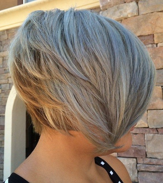70 Fabulous Choppy Bob Hairstyles | Haircuts I Like | Cortes in Choppy Ash Blonde Bob Hairstyles