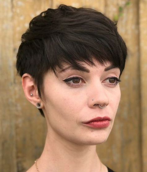 70 Overwhelming Ideas For Short Choppy Haircuts | Choppy pertaining to Neat Pixie Haircuts For Gamine Girls