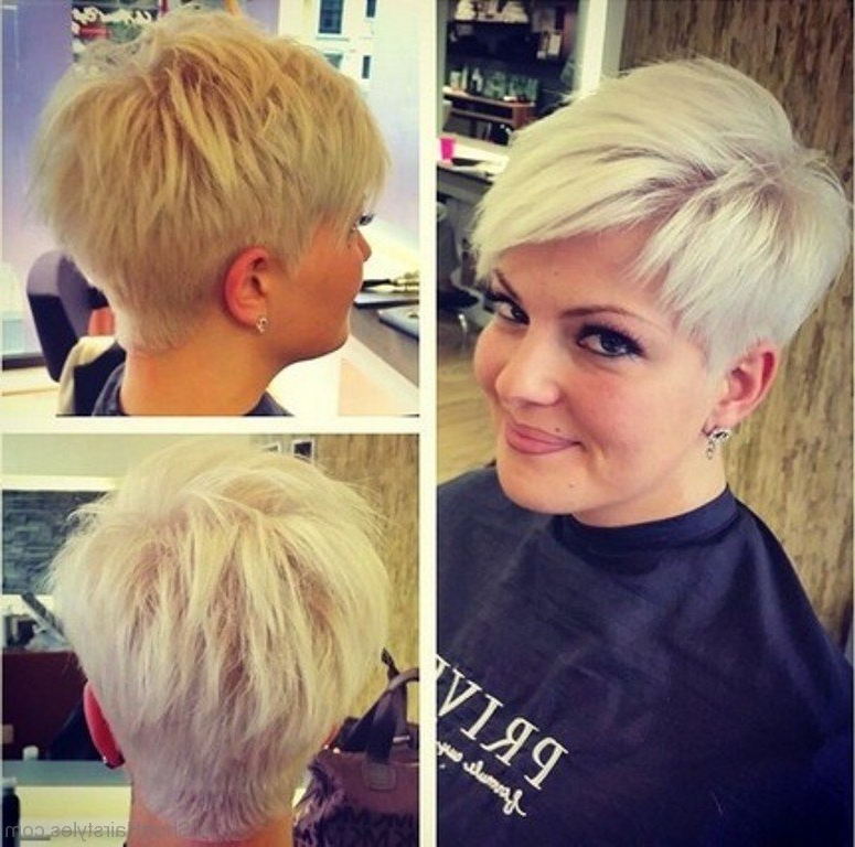 70 Pretty Short Spiky Hairstyles throughout Messy Spiky Pixie Haircuts With Asymmetrical Bangs
