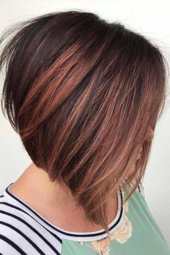 75 Fantastic Bob Haircut Ideas | Lovehairstyles inside Short Bob Hairstyles With Highlights