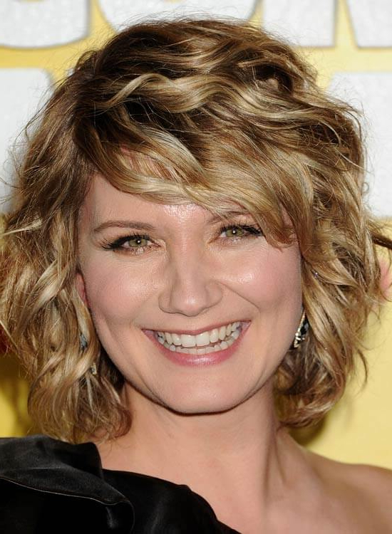 80 Latest And Most Popular Messy Bob Hairstyles For Women for Curly Messy Bob Hairstyles With Side Bangs