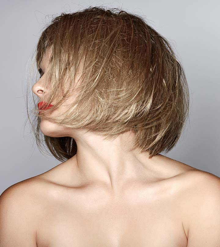 80 Latest And Most Popular Messy Bob Hairstyles For Women inside Simple Side-Parted Jaw-Length Bob Hairstyles