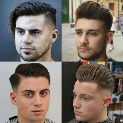 Best Haircuts For Guys With Round Faces – Haircuts + Regarding Brushed Back Hairstyles For Round Face Types (View 6 of 24)