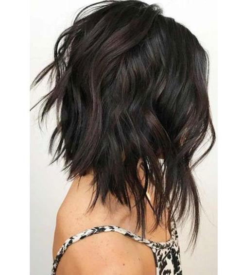 Choppy Bob Hairstyles For Women   Bob Hairstyles 2018 pertaining to Shoulder Length Choppy Hairstyles