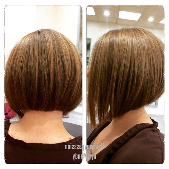Classic A-Line Bob Haircut For Round Face Shapes for A-Line Haircuts For A Round Face