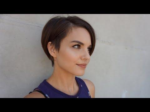Cutting My Hair Short | Pixie Bob With 360 Undercut in Minimalist Pixie Bob Haircuts