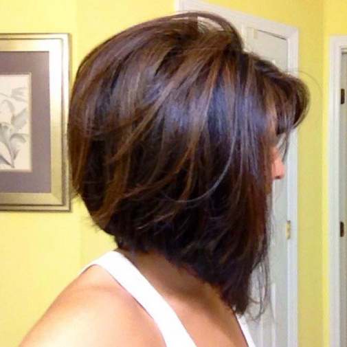 Daily Hairstyles For Short Hair: Concave Bob With Subtle for Short Bob Hairstyles With Highlights