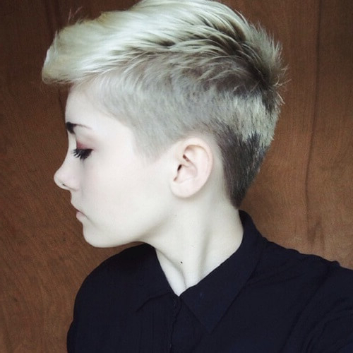 Dare To Get A Pixie Cut! We've Got 50 Suggestions & Ideas pertaining to Edgy Ash Blonde Pixie Haircuts