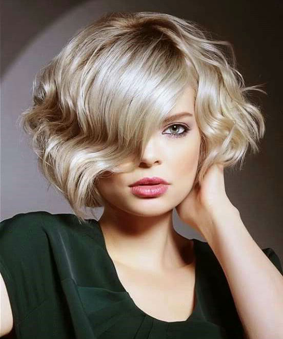 Devastatingly Cool Short Wavy Bob Hairstyles 2019 For Your with regard to Romantic Blonde Wavy Bob Hairstyles