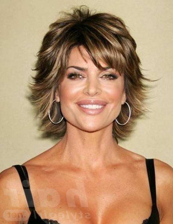 Easy Hairstyles For Women Over 50 | Hair Style For Long Pixie Haircuts With Sharp Layers And Highlights (View 18 of 25)