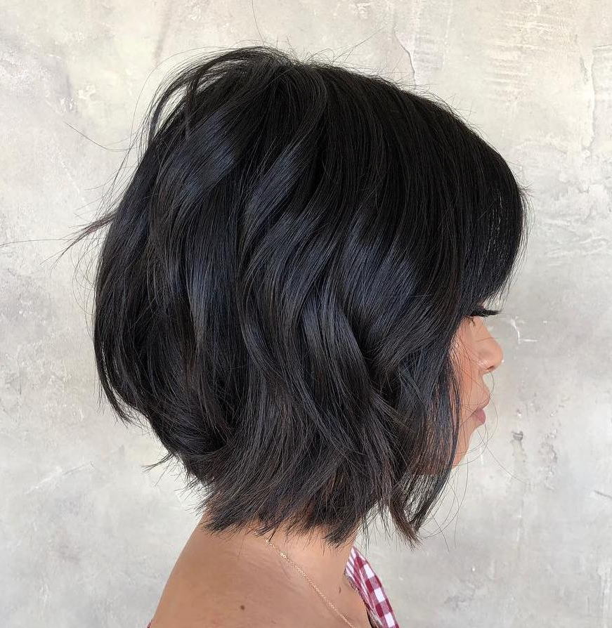 Find Your Best Bob Haircut For 2019 intended for Angled Bob Hairstyles With Razored Ends