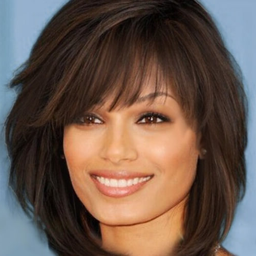 Go For A Shag Haircut: 50 Funky And Cool Ideas! | Hair in Razored Shaggy Bob Hairstyles With Bangs