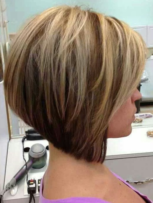 Graduated Bob Hairstyles For Round Faces | Hairstyles for A-Line Haircuts For A Round Face