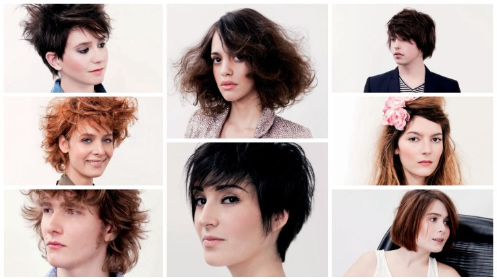 New Hairstyles For Summer With Short And Long Looks within Short Reinvented Hairstyles
