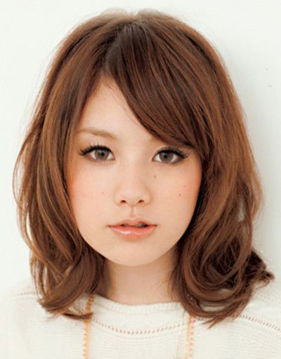 Pin On Art/ Reference for Short Bangs Hairstyles For Round Face Types