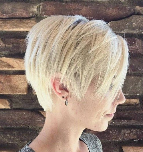 Pin On Beauty with regard to Choppy Pixie Bob Hairstyles For Fine Hair