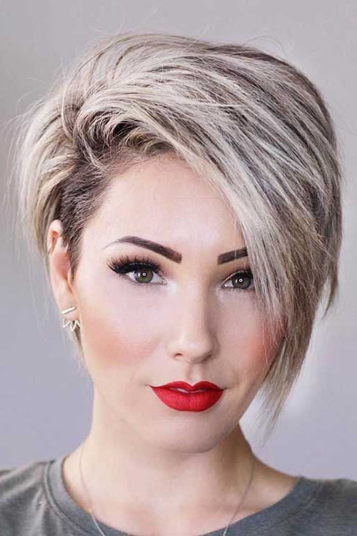 Featured Photo of Pixie Haircuts For Round Faces